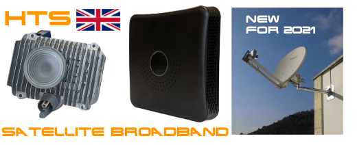 UK Satellite Broadband Service MEDIUM Package